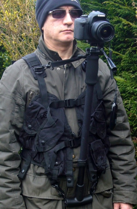 Photography - Tactical Vest in Black