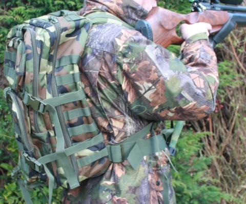 Shooting - Army Woodland Ruck Sack